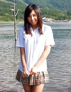 Horny Nana Ogura just can not stop having sweet solo