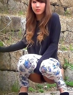 Japanese Piss Fetish Videos - Asian Girls Pissing - Piddle Here, Puddle There 4